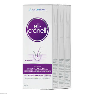Ell-Cranell 3x100ml Therapiepackung